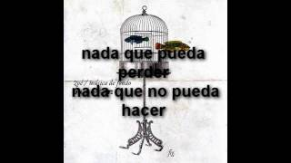 Zoé - Nada (MTV Unplugged) Letra