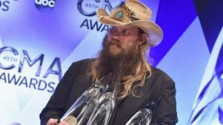 chris stapleton showing marines respect then singing with timberlake