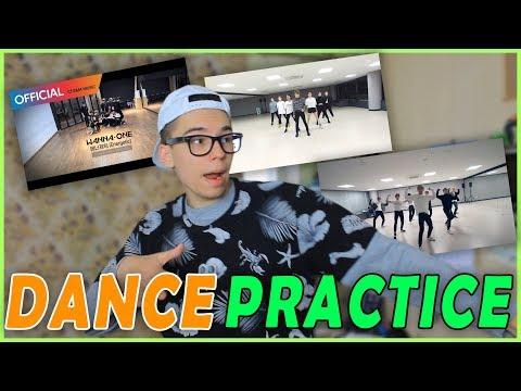 РЕАКЦИЯ НА DANCE PRACTICE!!! // NCT U, TAEMIN, WANNA ONE   Женя Симпсон