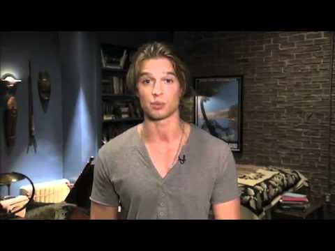 Drew Van Acker's 1st Day on the