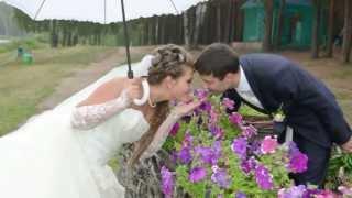 Сентиментальная прогулка  Артём и Юлия. Свадьба - это здорово!