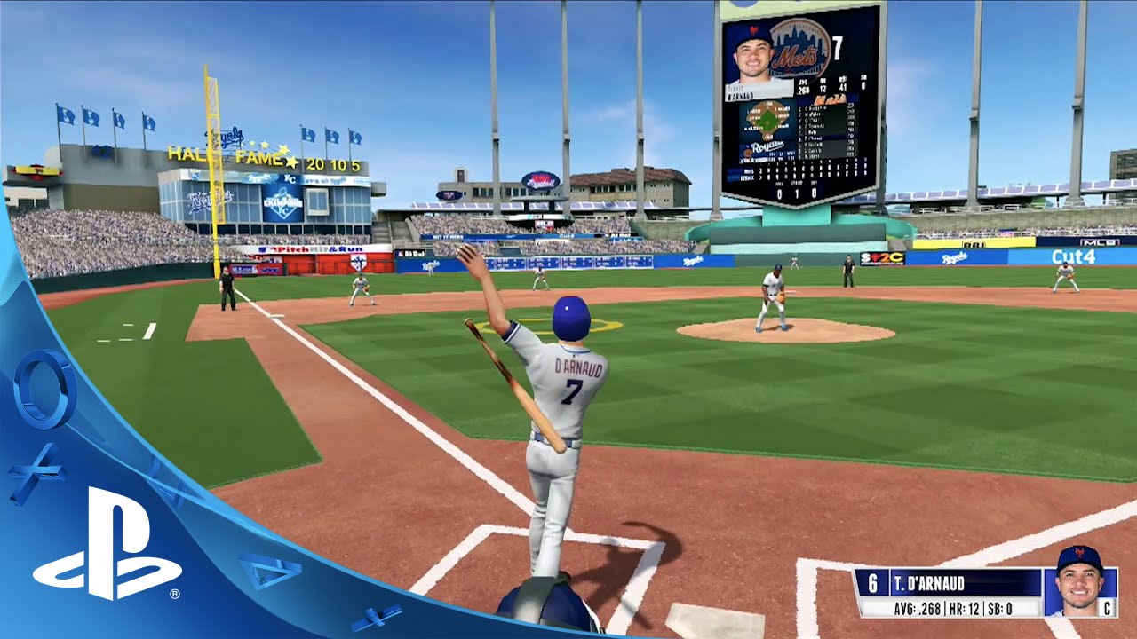 r b i baseball 16 gameplay trailer ps4 youtube