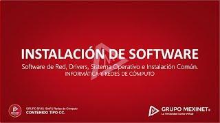 ¿Que es la Instalación de Software?