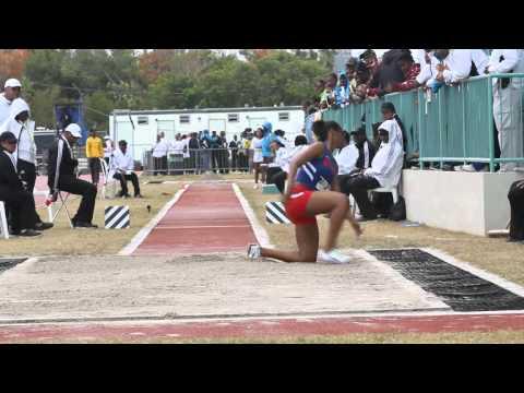 Triple Jump Girls Carifta Bermuda Apr 7 2012
