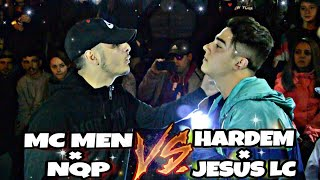 MC MEN y NQP vs HARDEM y JESUS LC ( BATALLÓN DE EXHIBICIÓN ) [ VIDEO OFICIAL ]