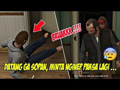 TAMU TAK DIUNDANG ! KE LOS SANTOS UNTUK CARI MICHAEL   GTA 5 MISI 18 : FRIEND REUNITED   PC