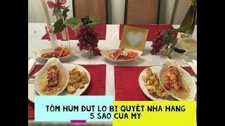 Tôm hùm đút lò Bí quyết nhà hàng 5 sao!Broiled lobster tail (5 stars restaurant's recipe)