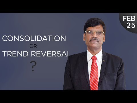 Consolidation or Trend Reversal? Post Market Report 25-02-2021