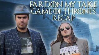 Pardon My Take Reviews Game of Thrones Season 8 Episode 1