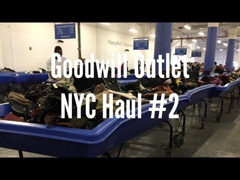 Goodwill Outlet in NYC Haul #2 + Mini Storytime (There Was A Fight at Goodwill??!)