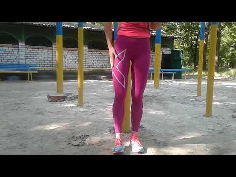 Розовые супер компрессионные лосины 2XU compressions tights