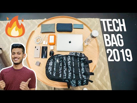 What's in My TECH BAG ? 2019