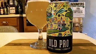 Union Craft Brewing Old Pro Gose (4.2% ABV) DJs BrewTube Beer Review #778