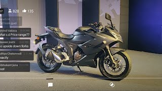 Suzuki Gixxer SF250 AND Gixxer SF155 Launch LIVE