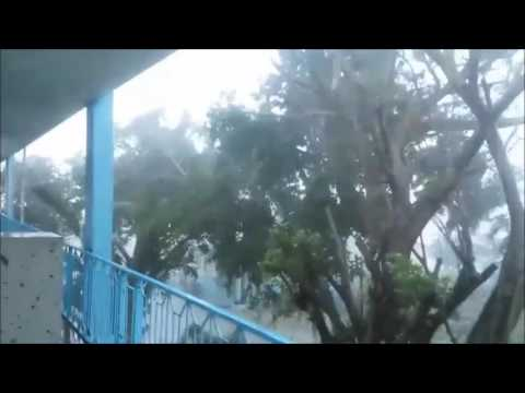 MINUSTAH - UN Video of Hurricane Matthew in Haiti