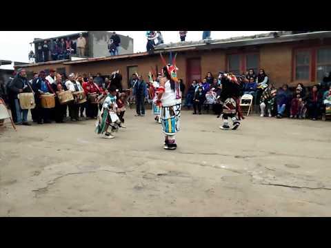 Pueblo Buffalo Dance at Second Mesa
