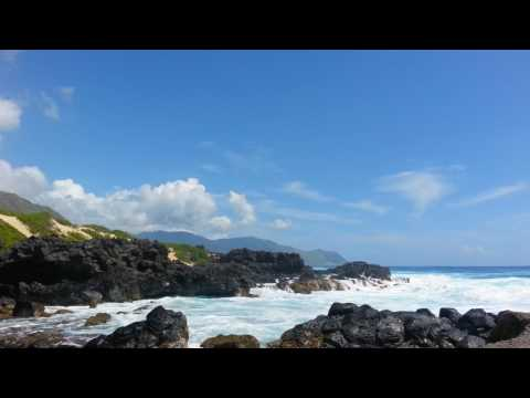 relaxing ocean waves hawaii