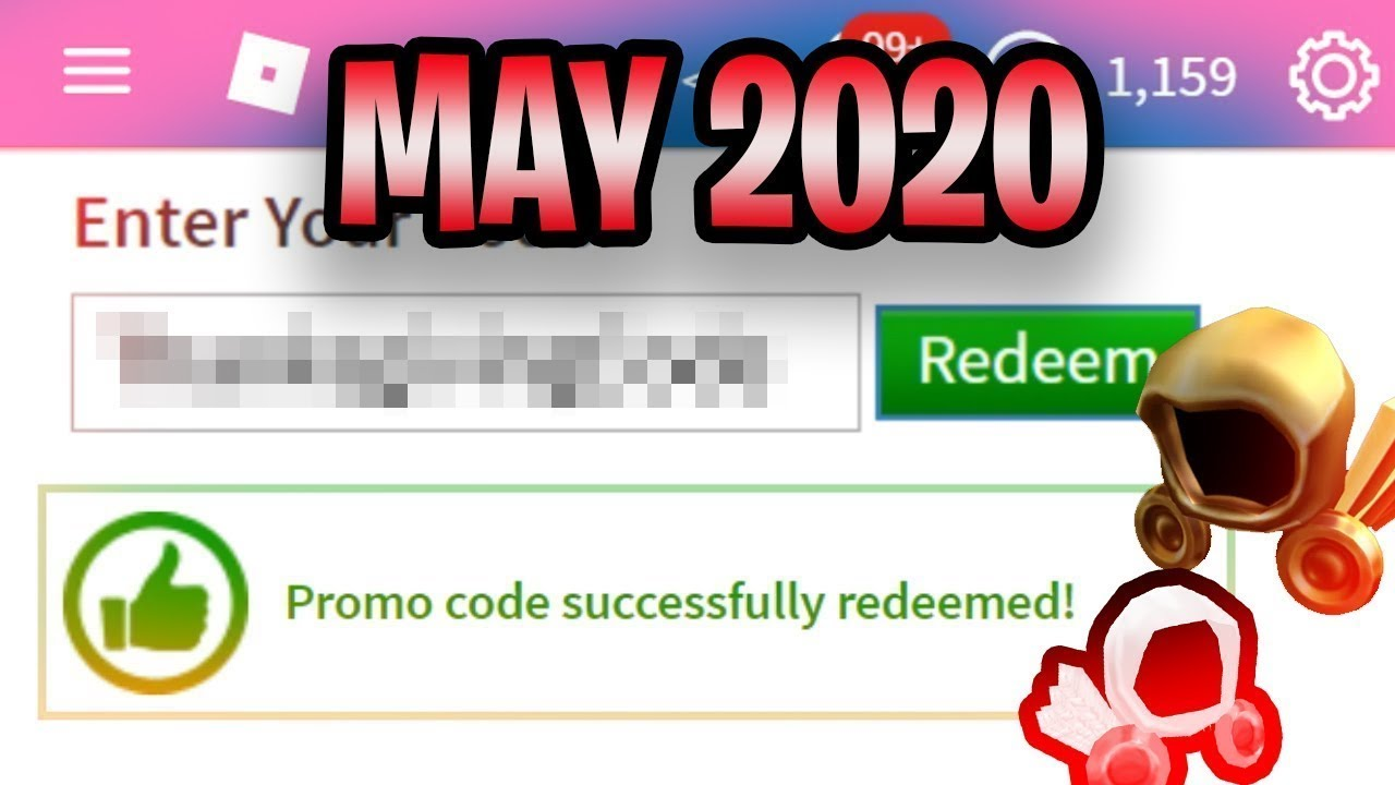 May All Roblox Promo Codes On Roblox 2020 May New Roblox Promo