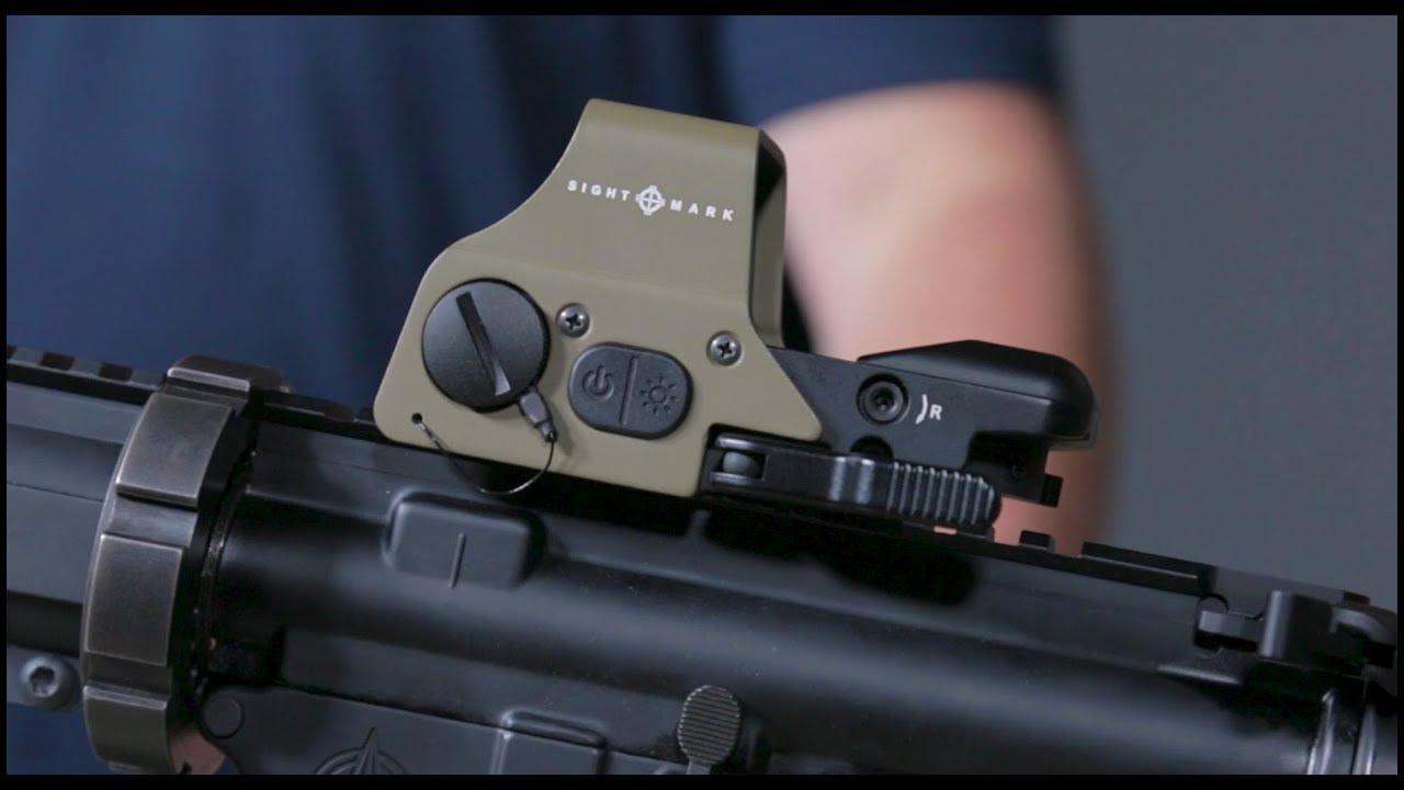 Black Sightmark Ultra Shot A-Spec Reflex Sight