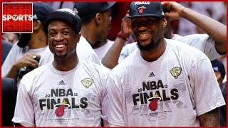 Dwyane Wade Says LeBron Cannot Pass Michael Jordan As G.O.A.T.