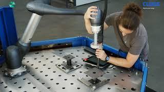 CLOOS - Cobot Welding System: Optimale Mensch-Roboter-Kollaboration