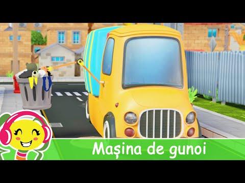 Masina de gunoi  Cantece pentru copii – CanteceGradinita – Cantece pentru copii in limba romana