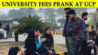 Begging for University Fees Prank in UCP - Lahori PrankStar