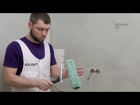 Подготовка и покраска ванной комнаты - Мастерская красок KOLORIT