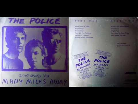 THE POLICE - Many Miles Away (Dortmund '83) (Vinyl-Rip)
