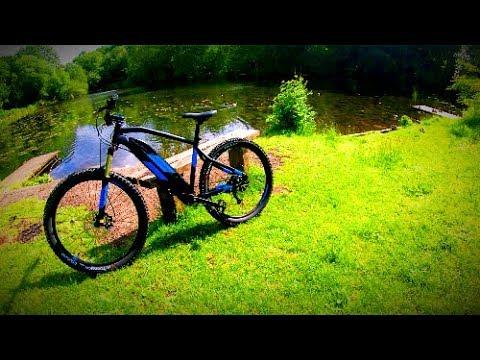 Decathlon RockRider E-ST500 EMTB Ride : Hopwood Woods