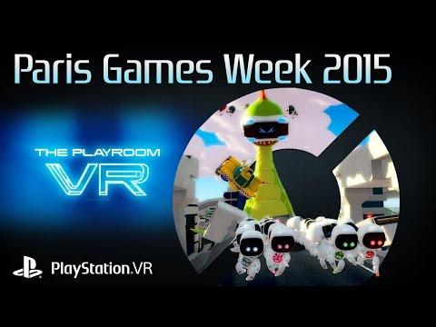 Playroom VR Monster escape - PlayStation VR: GAMEPLAY