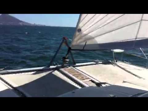 Maverick 400 catamaran - YouTube
