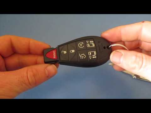 How To Change Key Fob Battery Chrysler Battery Remote Replacement