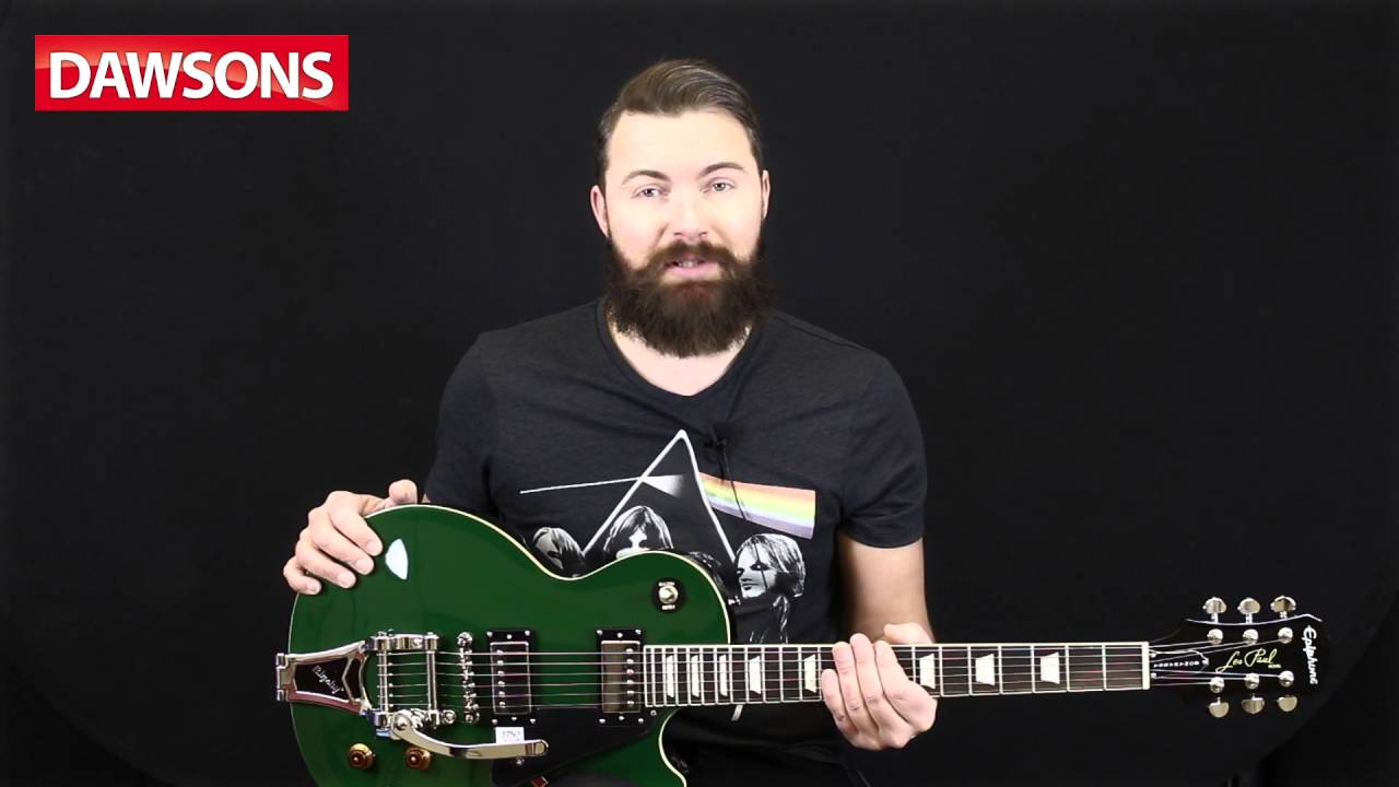Epiphone 2015 Limited Edition Joe Bonamassa Les Paul Standard Bigsby Humbuckers 3way Toggle Switch 2 Volumes 1 Tone Coil Tap Series Signature Review