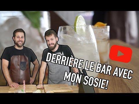 Derrière le bar avec mon sosie - 3 recettes de cocktails