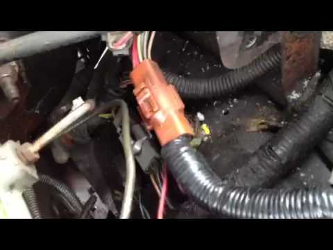 1989 ford bronco 2 to 1991 ford explorer 40 ECM and wiring - YouTube