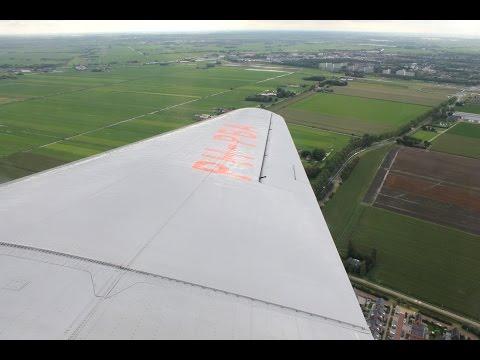 Dakota DC-3 PH-PBA Schiphol-Eindhoven Fullflight 19-09-2015 (DutchPlaneSpotter)