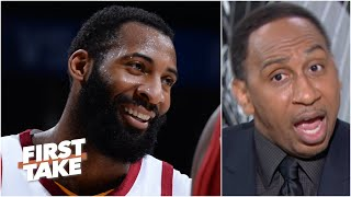 Stephen A. reacts to Andre Drummond signing with the Lakers | First Take