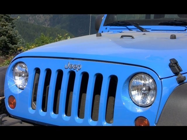 2012 Jeep Wrangler Design Secrets Revealed Youtube