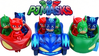 PJ MASK VEHICLES CAT CAR GEKKO MOBILE OWL GLIDER TAKE ON ROMEO NIGHT NINJA LUNA GIRL TOYS