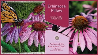 How it was made - Echinacea Pillow (DST / Time-lapse)