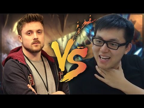 War in Un'Goro 1: Amaz vs Forsen Showmatch (Both POVs)