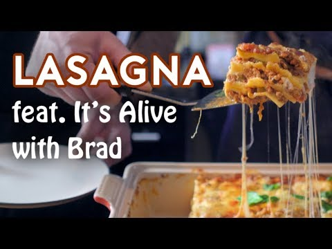 Binging with Babish: Lasagna from Garfield (feat. Its Alive with Brad)