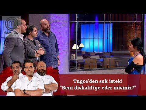 Tuğçe'den şok istek! 'Beni diskalifiye eder misiniz?' | 11. Bölüm | MasterChef Türkiye