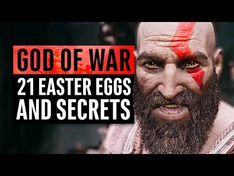 God of War | 21 Easter Eggs and Secrets