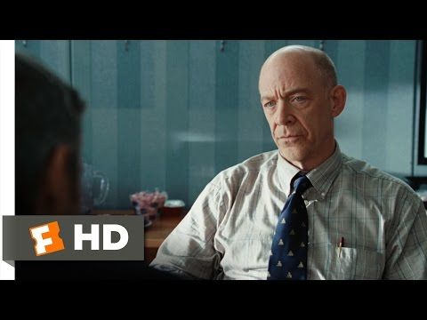 """How much did they first pay you to give up on your dreams?"". A brilliant scene from one of my favourite movies, ""Up In The Air"", with Anna Kendrick, JK Simmons, and George Clooney"