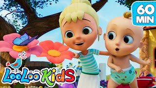 Johny Has a Flower in His Garden - LooLoo Kids Nursery Rhymes