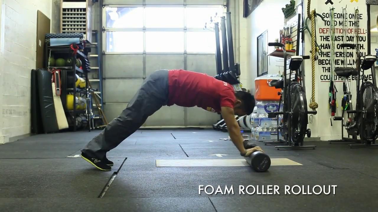 foam roller ab rollout youtube. Black Bedroom Furniture Sets. Home Design Ideas