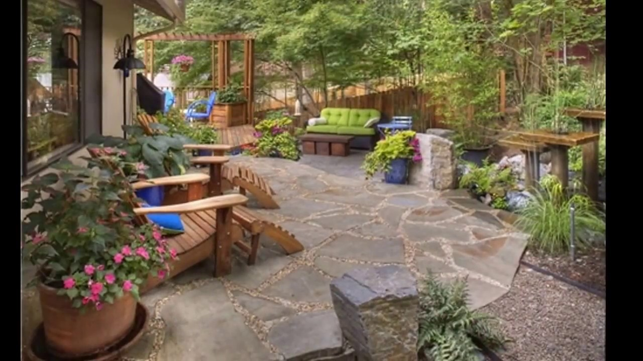 Small Garden Ideas To Revitalise Your Outdoor Space: Rustic Garden Design Ideas