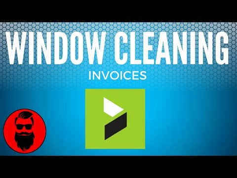 Window Cleaning Invoices
